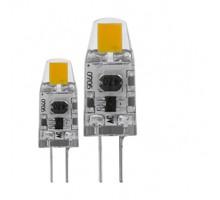 Лампа светодиодная диммируемая, 2х1,2W(G4), 2700K, 100lm, 2 шт. в комплекте