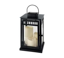 48593 Светильник на солнечной батарее, 3x0,06W(LED), черный