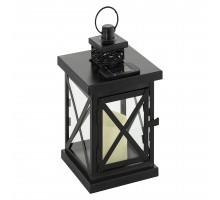 48595 Светильник на солнечной батарее, 1x0,06W(LED), черный
