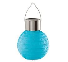 48617 Уличный светильник на солнечной батарее, 1х0,06W (LED), голубой