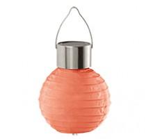 48619 Уличный светильник на солнечной батарее, 1х0,06W (LED), красный