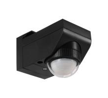 Датчик движения DETECT ME 4 с датч. дв-я, L55, H70, A100, 360°, 12м, 10-900 сек., пластик, черный