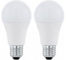 Светодиодная лампа A60, 2х11W (Е27), 3000K, 1055lm, 2 шт. в комплекте