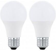 Светодиодная лампа A60, 2х5,5W (Е27), 4000K, 470lm, 2 шт. в комплекте