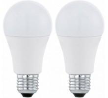 Светодиодная лампа A60, 2х9,5W (Е27), 3000K, 806lm, 2 шт. в комплекте