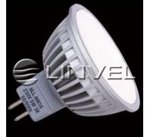 Лампа светодиодная LINVEL LS-20 7W 230V G5.3 MR16 3000K 600Lm