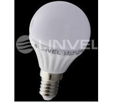 Лампа светодиодная LINVEL LS-31 7W 220V E14 3000K 600Lm шарик