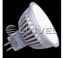 Лампа светодиодная LINVEL LS-20 60LED/6W 230V G5.3 3000K 560Lm