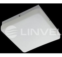 "Светильник накладной LG 8160 M white 2*E14 IP44 Max 40W 250*250*80mm Люстра ""таблетка"""