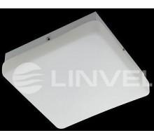 "Светильник накладной LG 8160 S white 1*E14 IP44 Max 60W 210*210*80mm Люстра ""таблетка"""